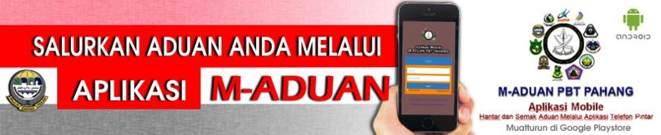 Aplikasi M-Aduan