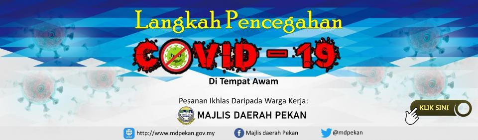 Banner Langkah Pencegahan COVID19